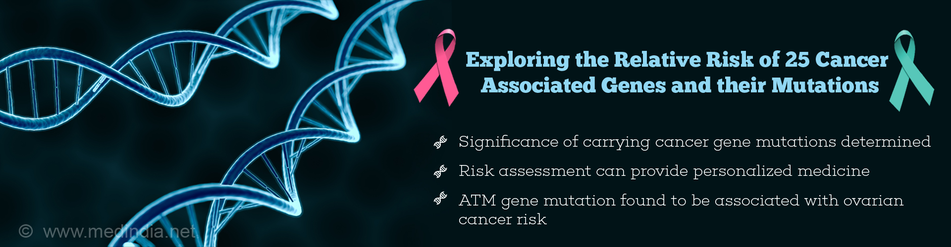 Stanford Scientists Identify Relative Risk of 25 Cancer Associated Genes