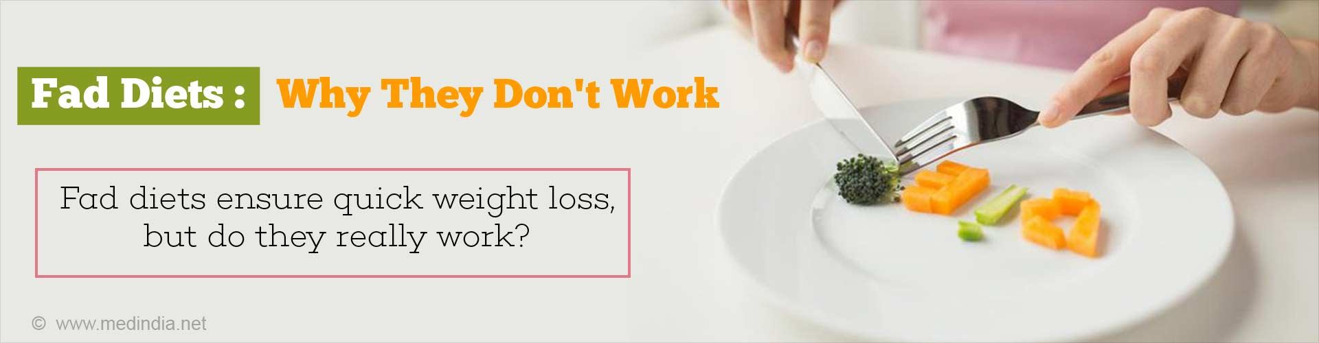 Here's Why You Should Stay Away From Fad Diets