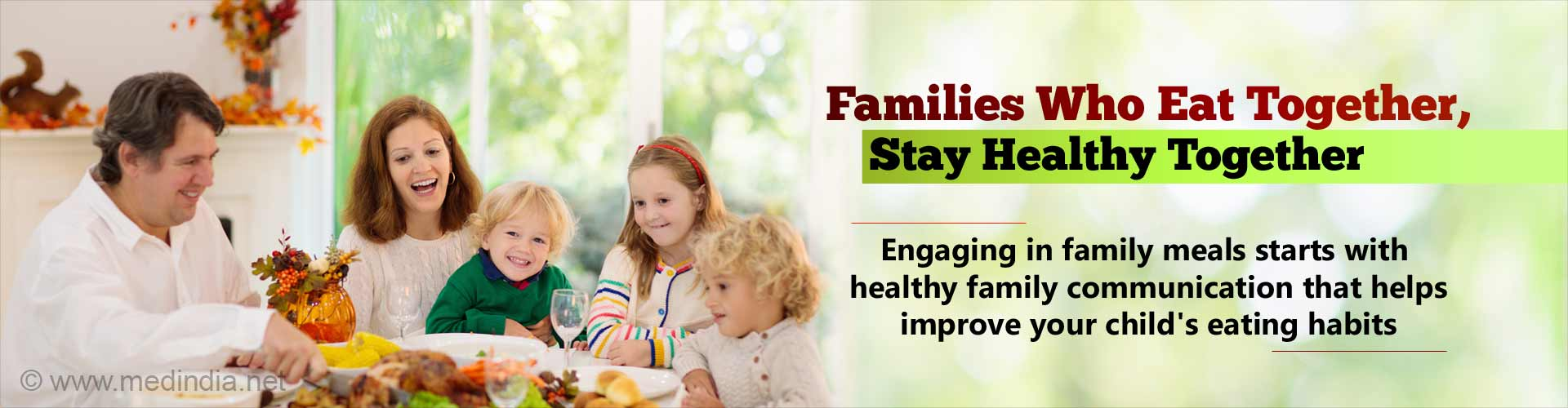 Family Meals: Good Communication Helps Your Family Dine Together