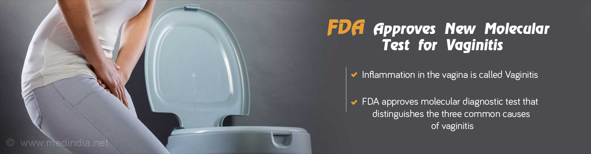 FDA Approval: New Molecular Test for Distinguishing Common Causes of Vaginitis