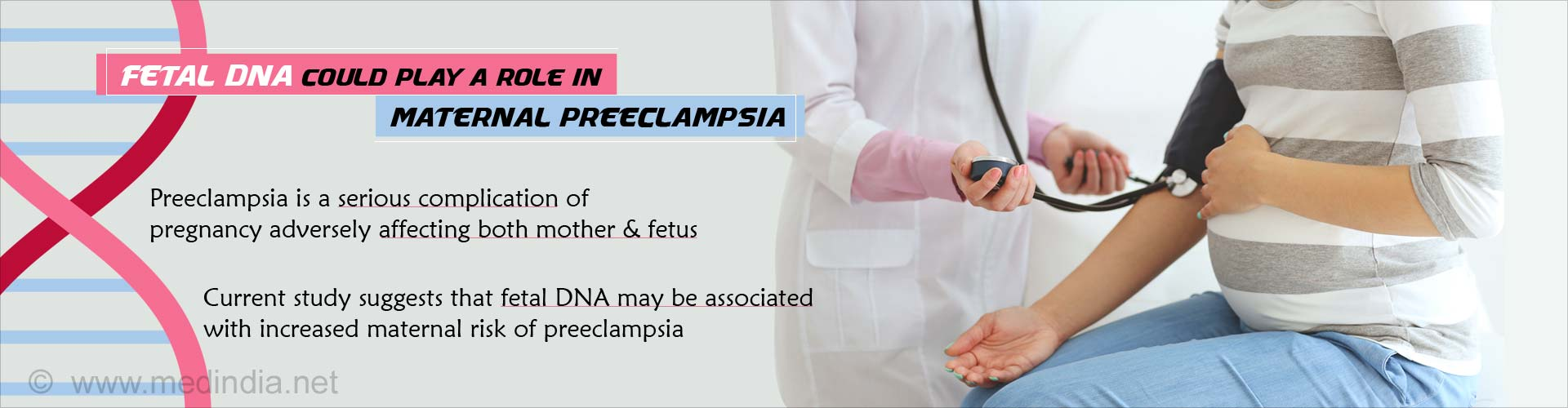 Fetal DNA could play a role in maternal pre-eclampsia