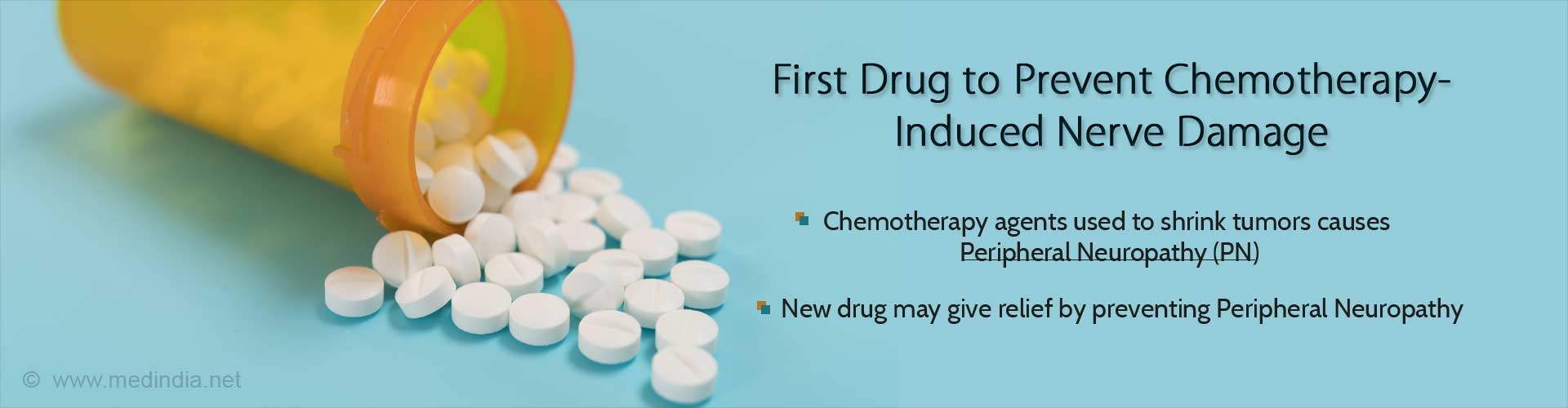 First Drug to Prevent Chemotherapy-induced nerve damage
