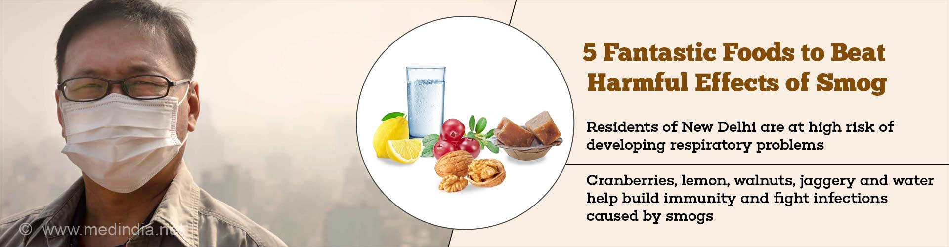 5 fantastic foods to beat harmful effects of smog