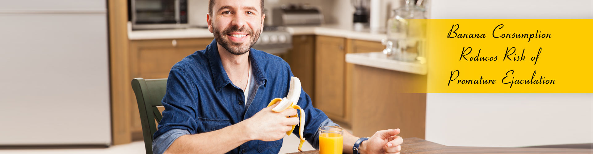 Banana Consumption Reduces Risk of Premature Ejaculation