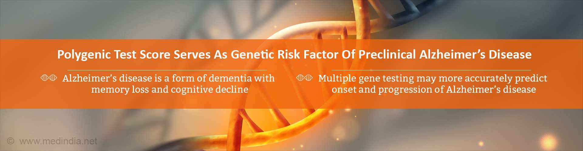 Predicting Alzheimer's Disease Risk- Multiple Gene Testing Better Than APOE Gene Testing Alone