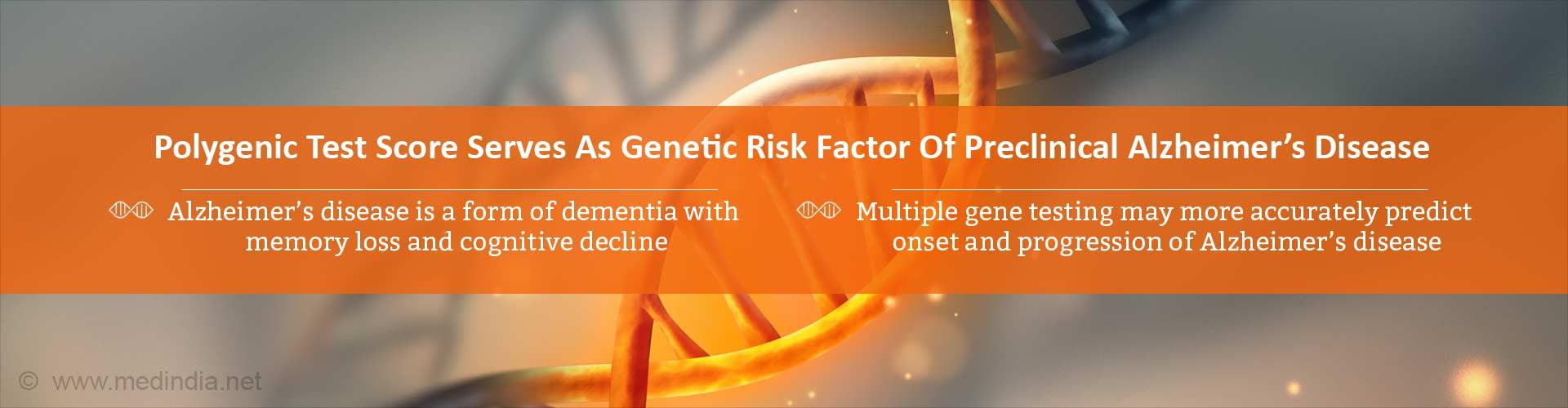 Predicting Alzheimer's Disease Risk â€