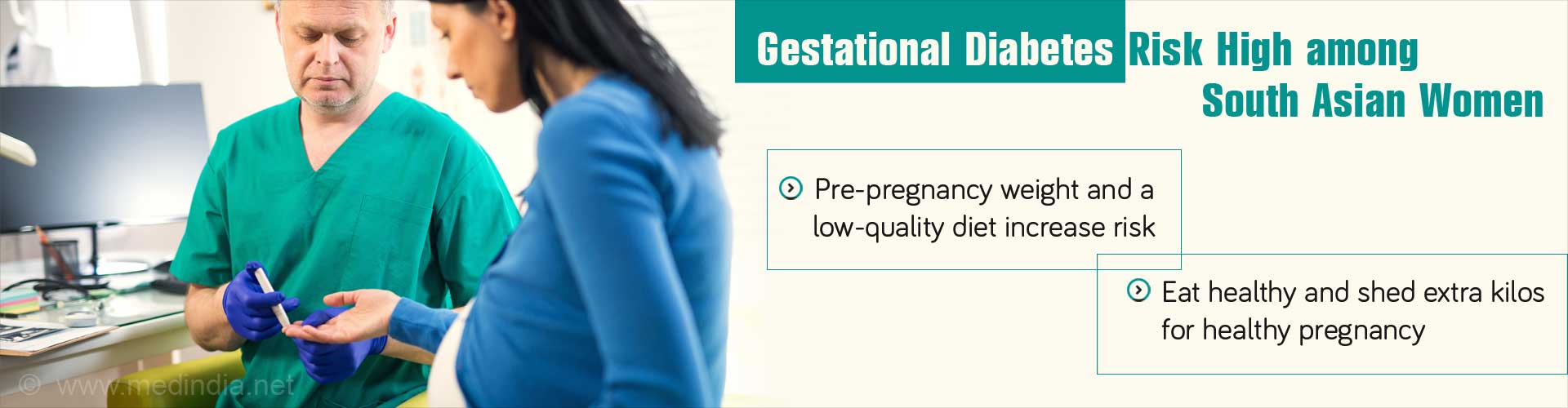 Healthy Diet and Normal Weight can Lower Risk of Gestational Diabetes