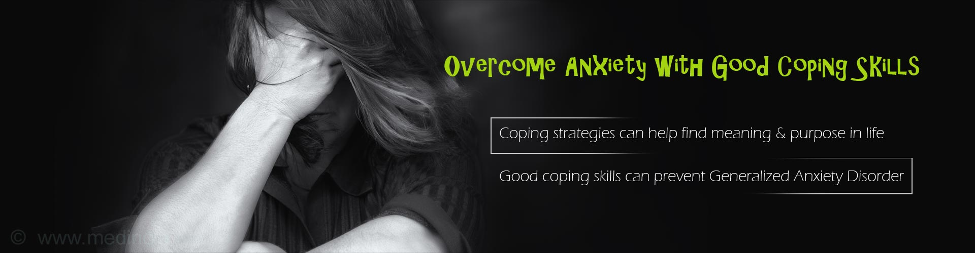 Good Coping Skills Can Help Women Overcome Anxiety