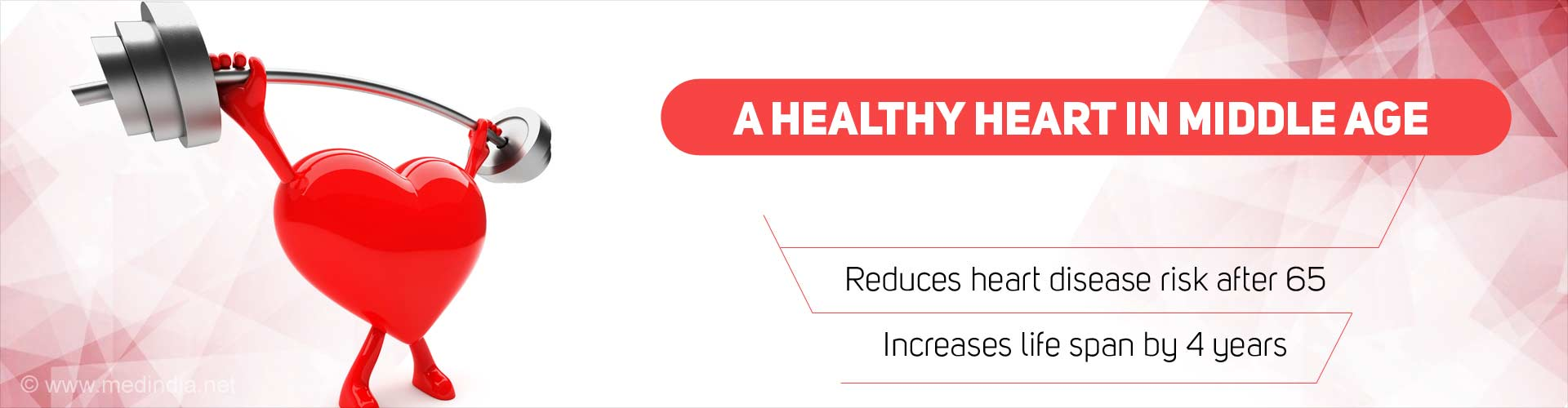 Maintain Good Heart Health in Middle Age: Enjoy Healthier Old Age