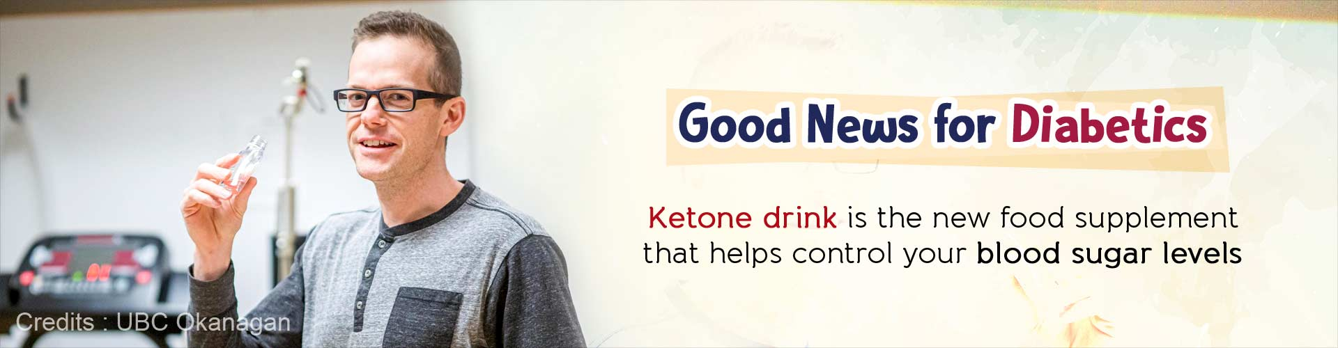 Good news for diabetics. Ketone drink is the new food supplement that helps control your blood sugar levels.