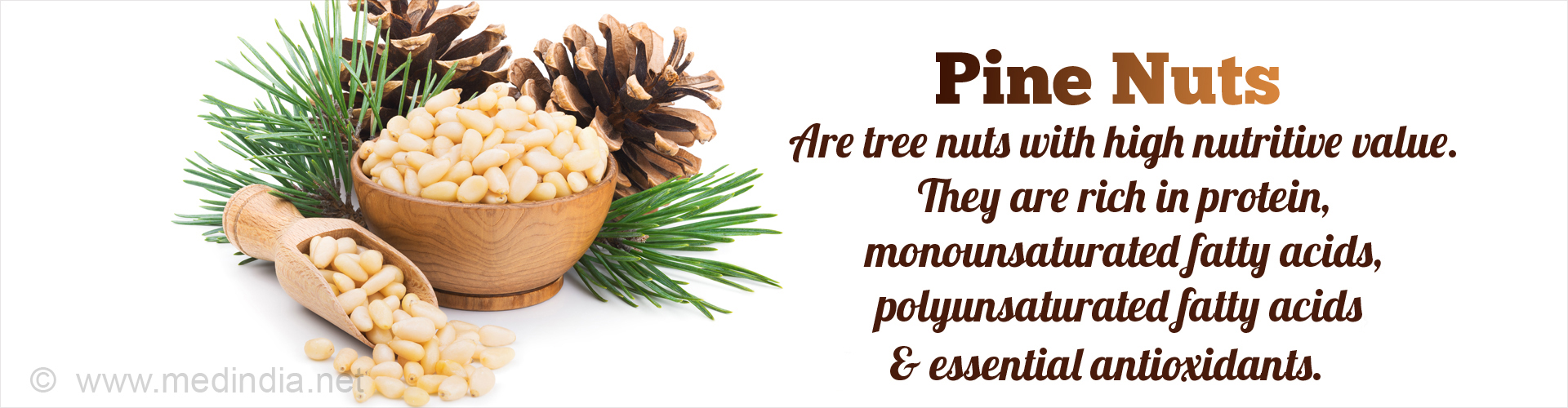 What are the benefits of pine nuts