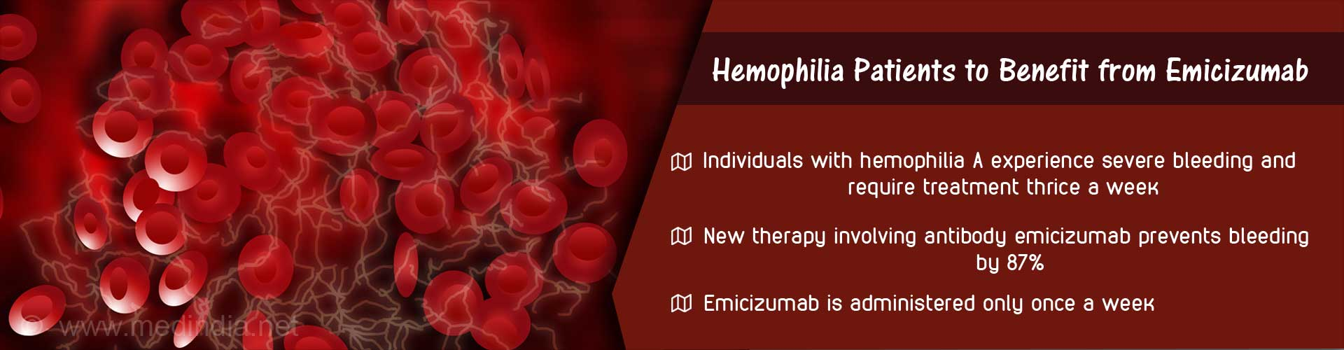 Hemophilia A Patients With Inhibitors Benefit from Emicizumab