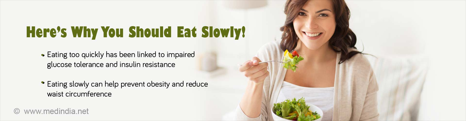 Eating Slowly may Help You Shed Extra Kilos