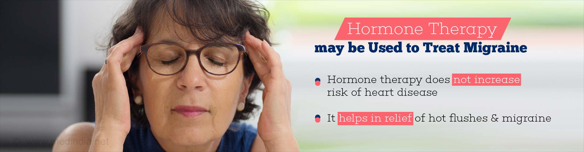 Hormone Therapy for Migraine Offers No Risk of Heart Disease