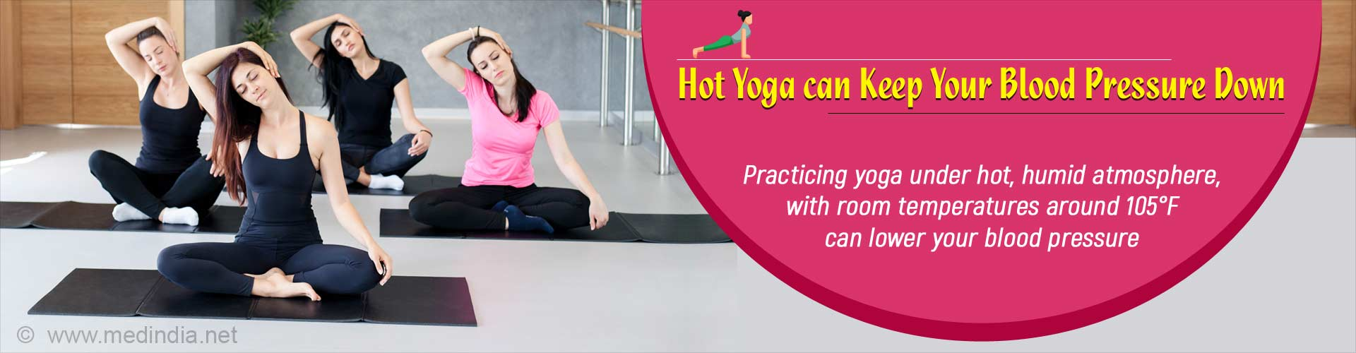 Sizzling Hot Yoga can Lower Your Blood Pressure Naturally