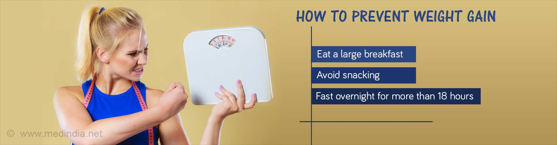 How to Prevent Weight Gain
