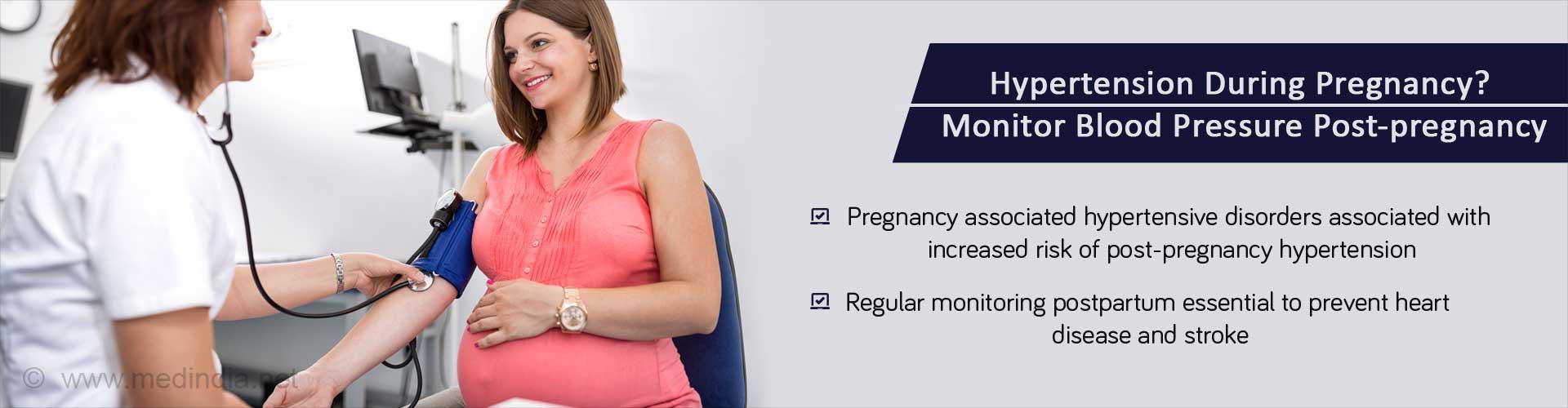 Pregnancy-induced Hypertension Increases Risk of Post-pregnancy Hypertension