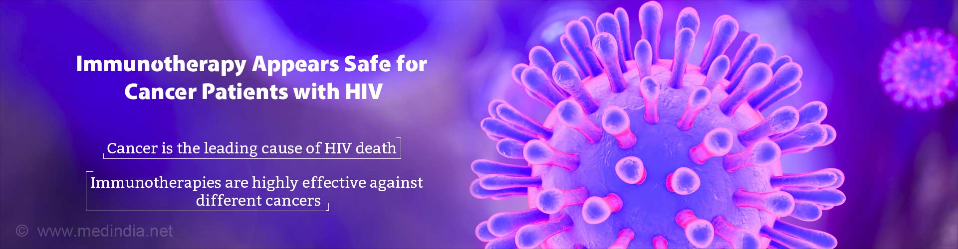 Immunotherapy Appears Safe for Cancer Patients With HIV