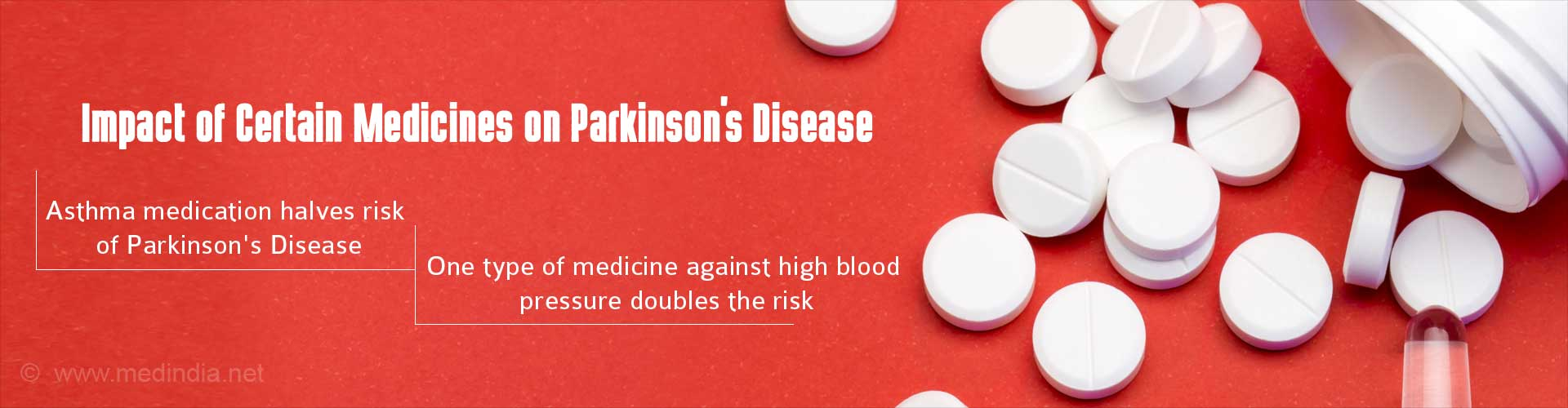 Impact of certain medicines on Parkinson's Disease