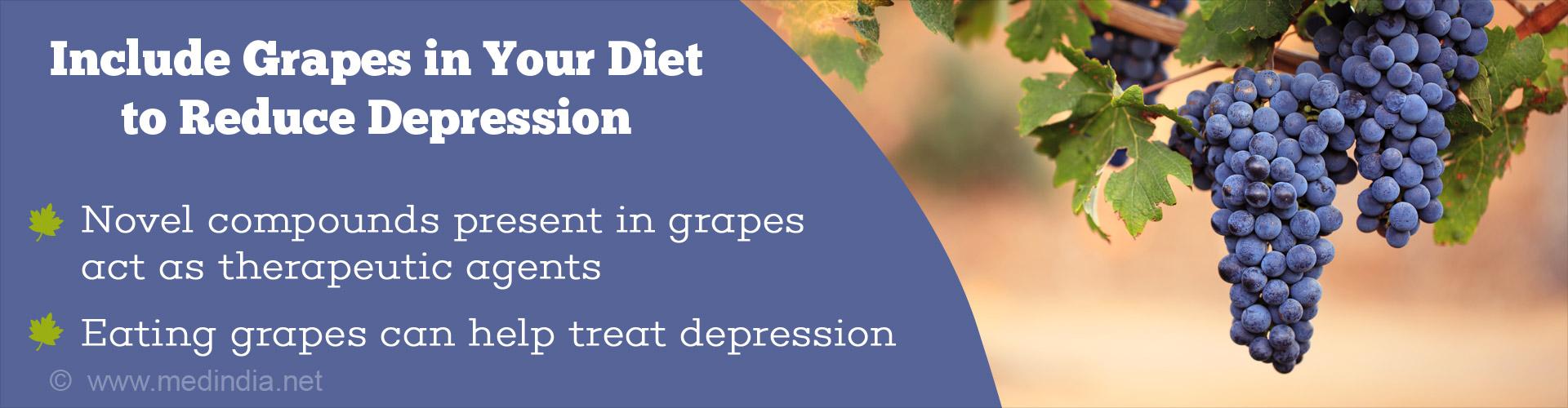 Eat Grapes to Keep Depression at Bay