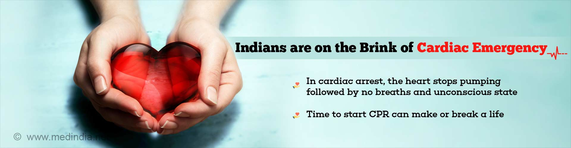Indians are on The Brink of Cardiac Emergency