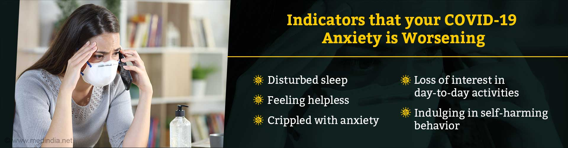 Six Signs of Paralyzing COVID-19 Anxiety