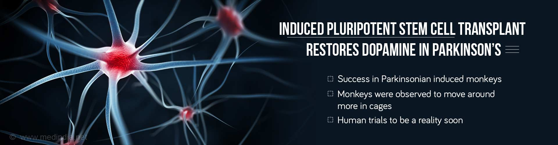 Hope for Parkinson's Cure Rises as Stem Cell Therapy Restores Dopamine