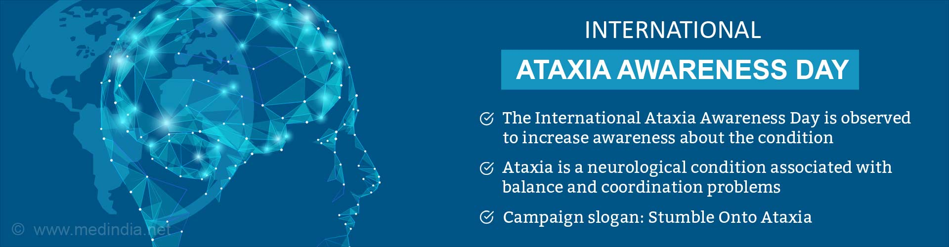 International Ataxia Awareness Day: Ataxia Symptoms
