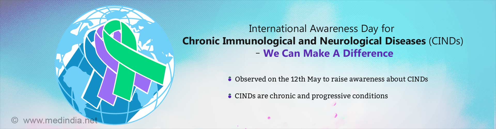 international Awareness Day for Chronic Immunological and Neurological Diseases (CINDs) â€