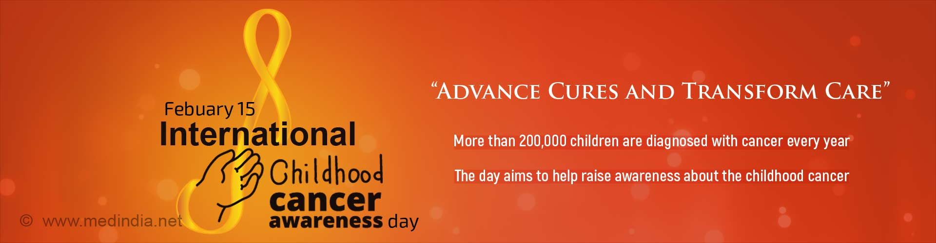 International Childhood Cancer Day: