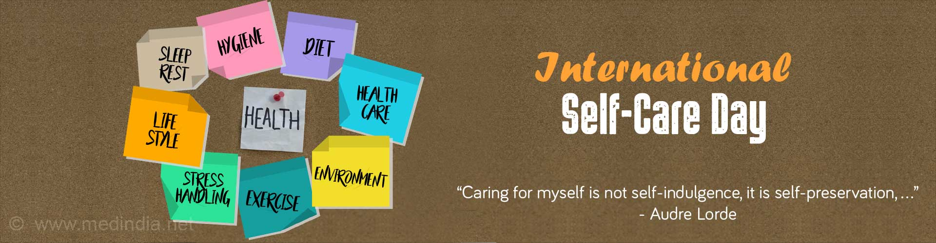 International Self-Care Day 2017