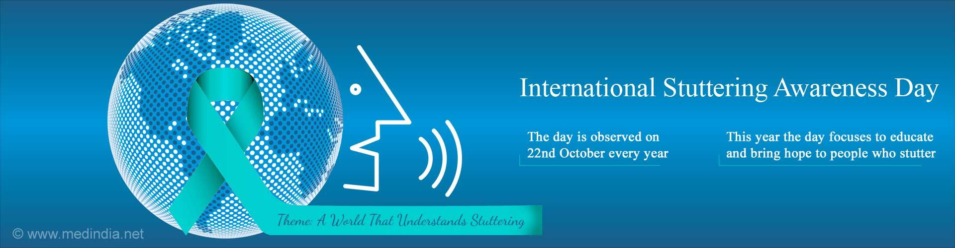 International Stuttering Awareness Day -