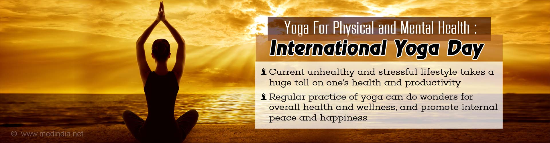 International Yoga Day- 'œIndia's Prescription Of Wellness To The World'�