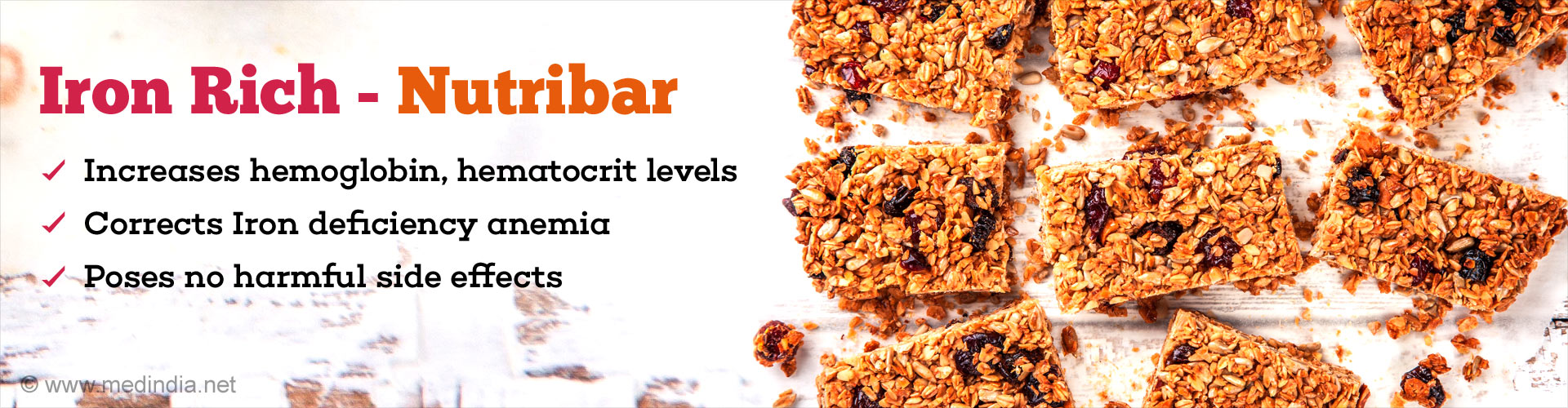 Iron Rich Nutribar