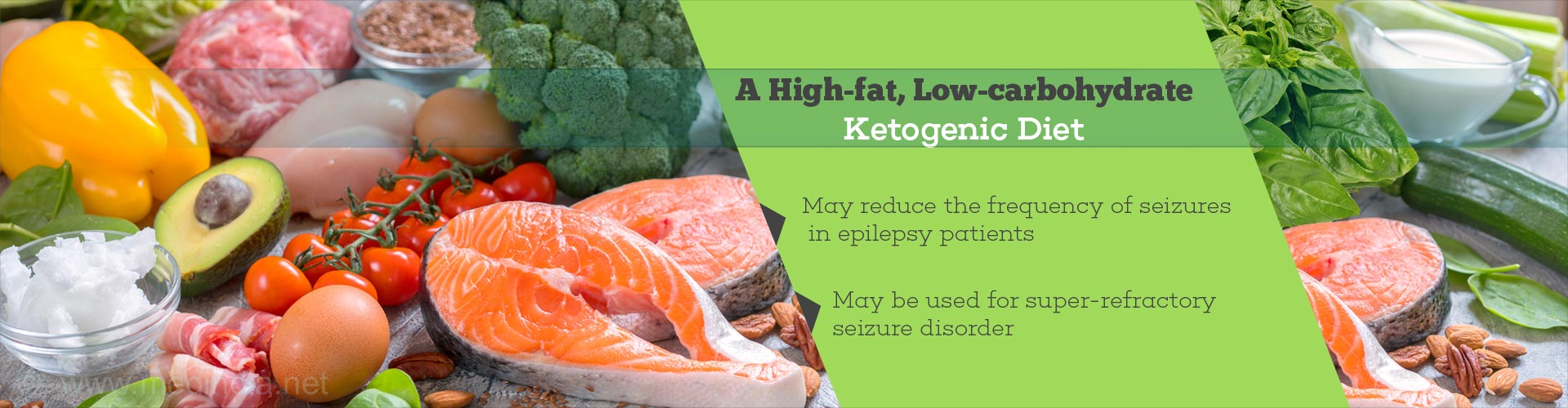 A high-fat, low carbohydrate ketogenic diet - may reduce the frequency of seizures in epilepsy patients - may be used for super-refractory seizure disorder