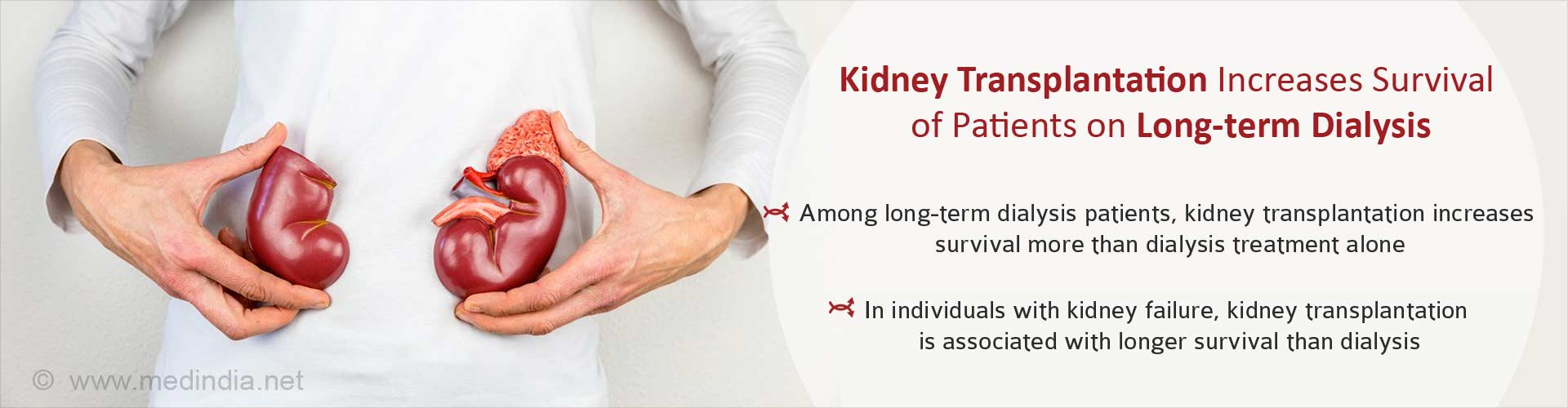 Kidney Transplantation is Associated With Better Survival