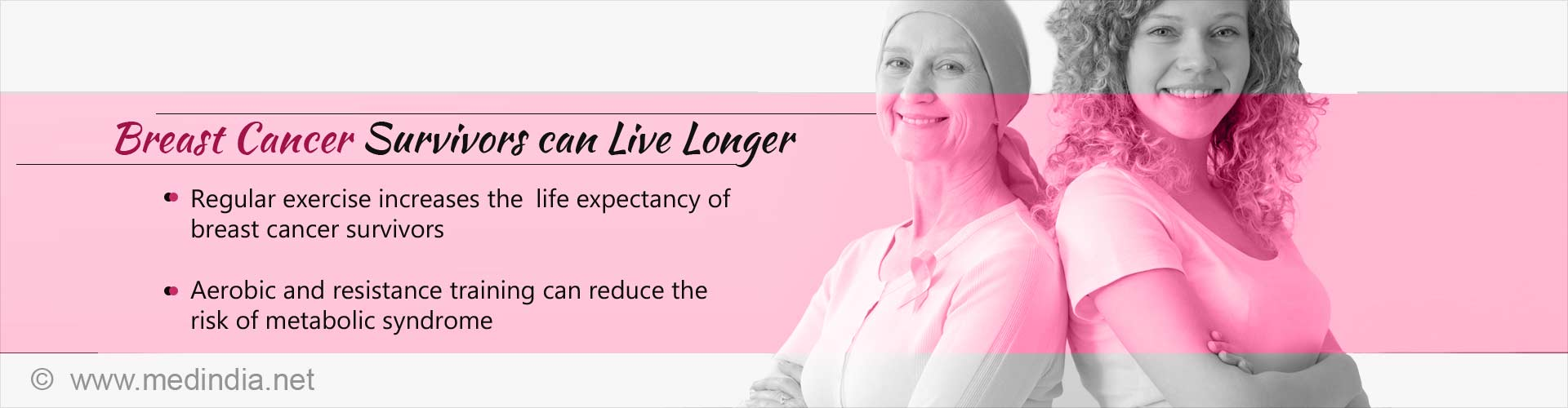 Lifespan of Breast Cancer Survivors can be Increased