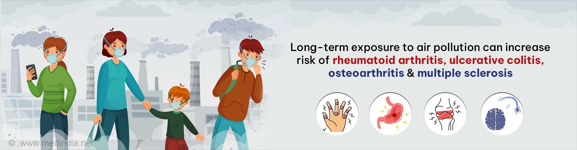 Air Pollution can Cause Loss of Smell
