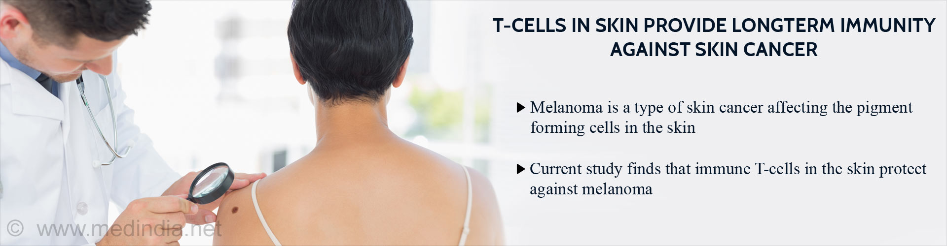T-cells In Skin Can Kill Melanoma Cells And Prolong Survival