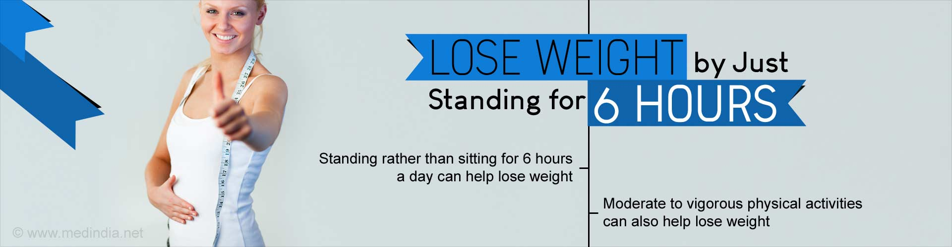 lose weight by just standing for 6 hours