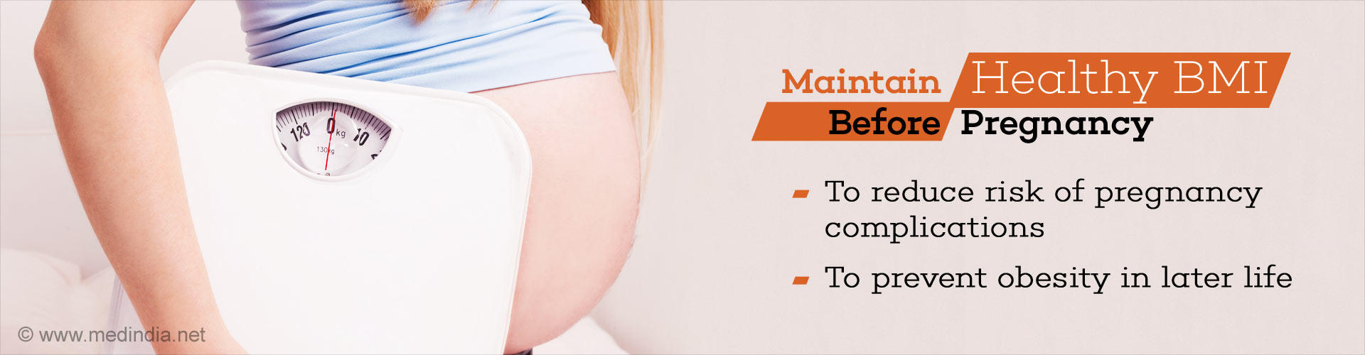 Maintain Healthy BMI Before Pregnancy