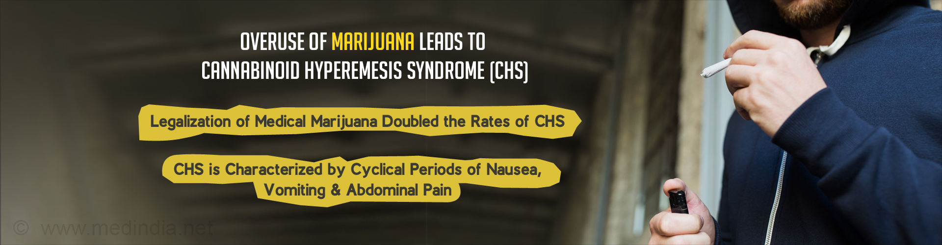 Overuse of Marijuana Leads to Cannabinoid Hyperemesis Syndrome (CHS)