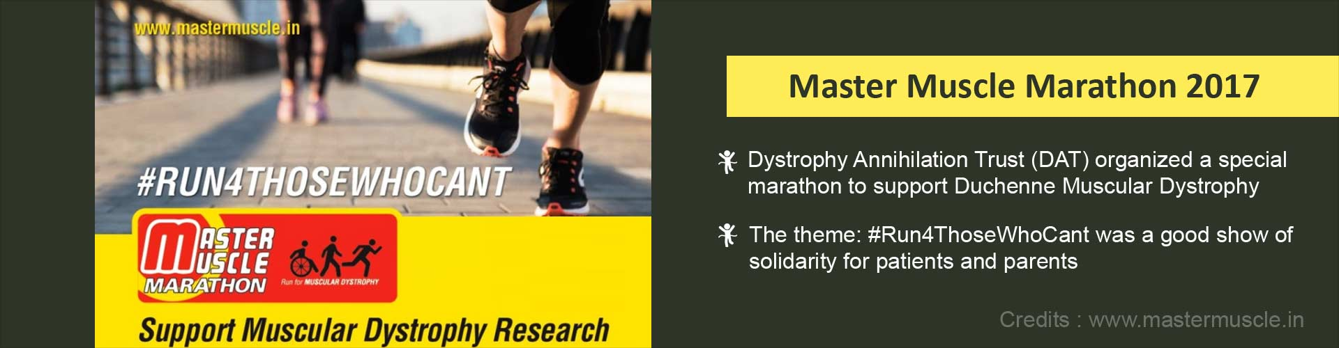 Master Muscle Marathon 2017: Run for Duchenne Muscular Dystrophy