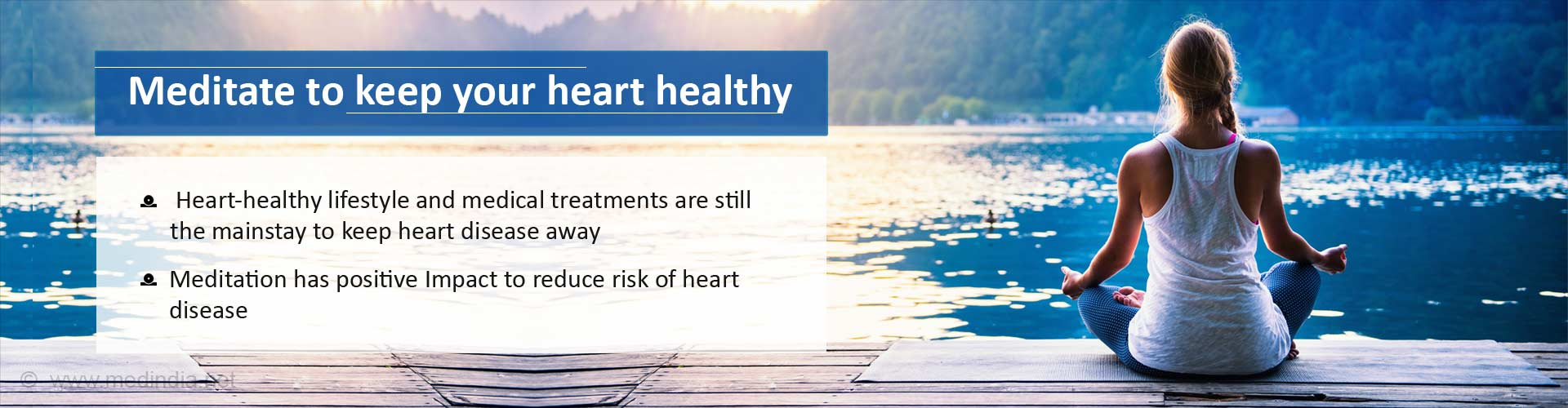 Meditate to keep your heart healthy