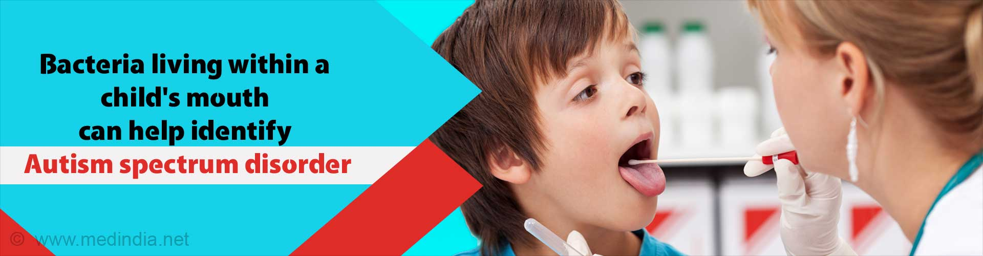 Bacteria living within a child's mouth can help identify autism spectrum disorder.
