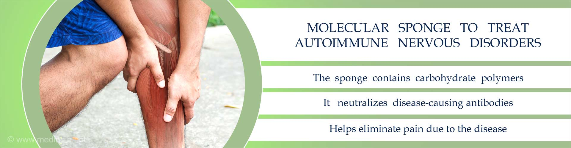 molecular sponge to treat autoimmune nervous disorders