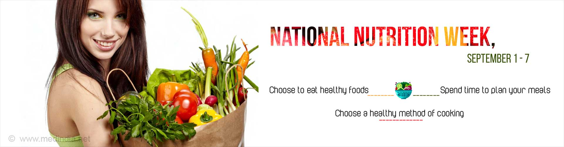 National Nutrition Week (September 1-7)