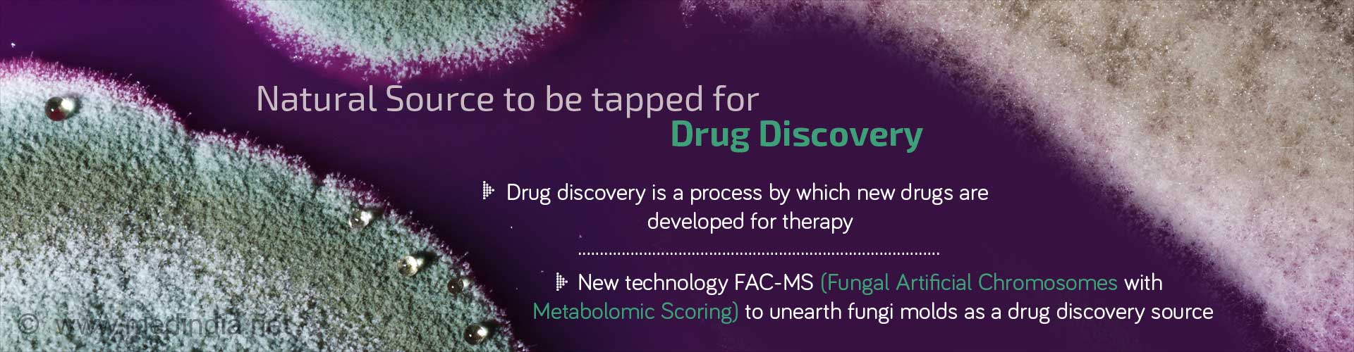 Natural source to be tapped for drug discovery