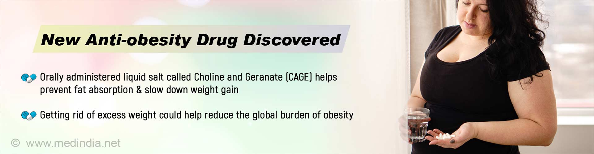 Stop Obesity: Preventing Weight Gain is Now Possible With a New Drug 'CAGE'