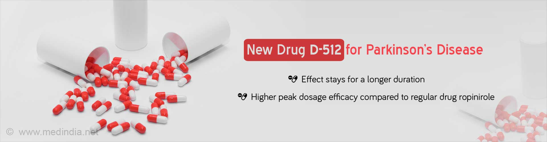 New Drug D-512 for Parkinson's Disease